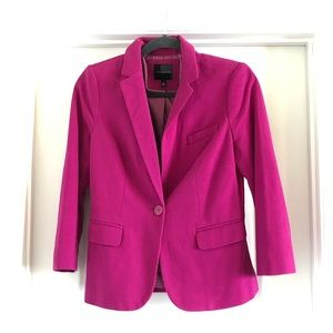 LIMITED Fuschia Blazer - 3/4 sleeves - Small
